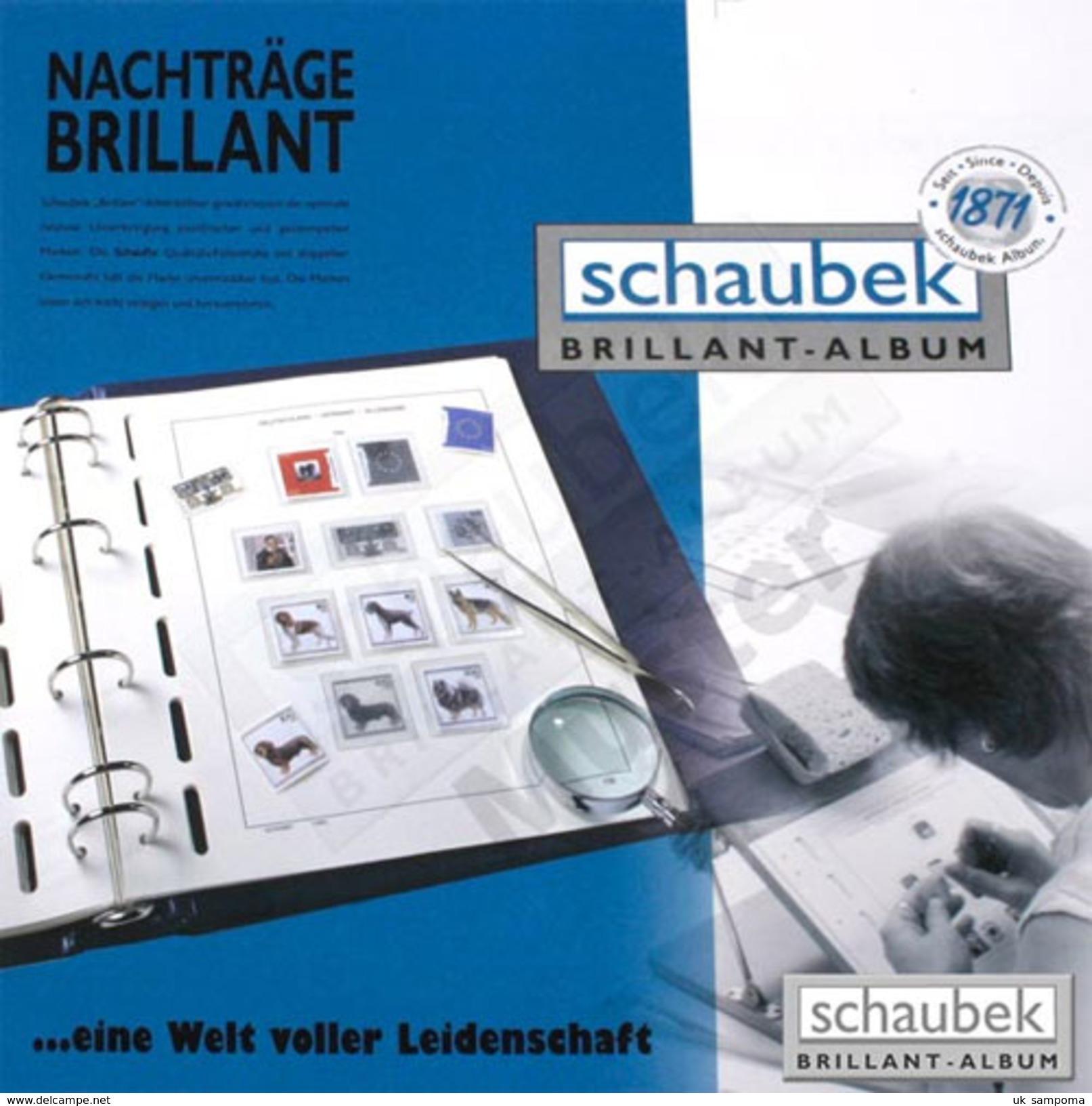 Schaubek 860/1KT02B Set Of Leaves Europe-Union 1995-1999 Brillant - Sheetlets - Albums & Binders