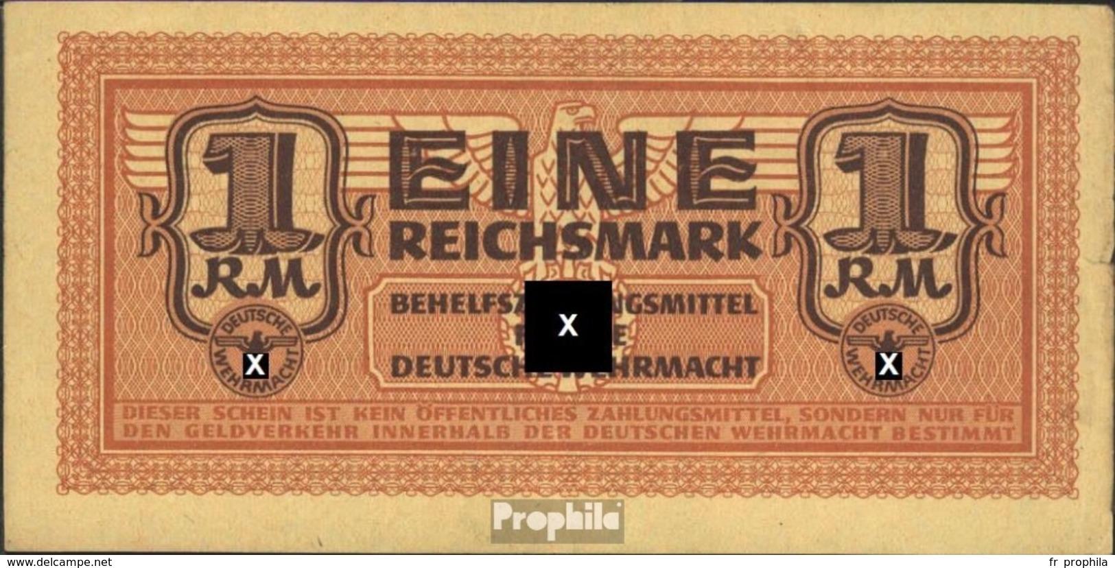 Allemand Empire Rosenbg: 505 Utilisé (III) 1942 1 Reichsmark Wehrmacht - Unclassified