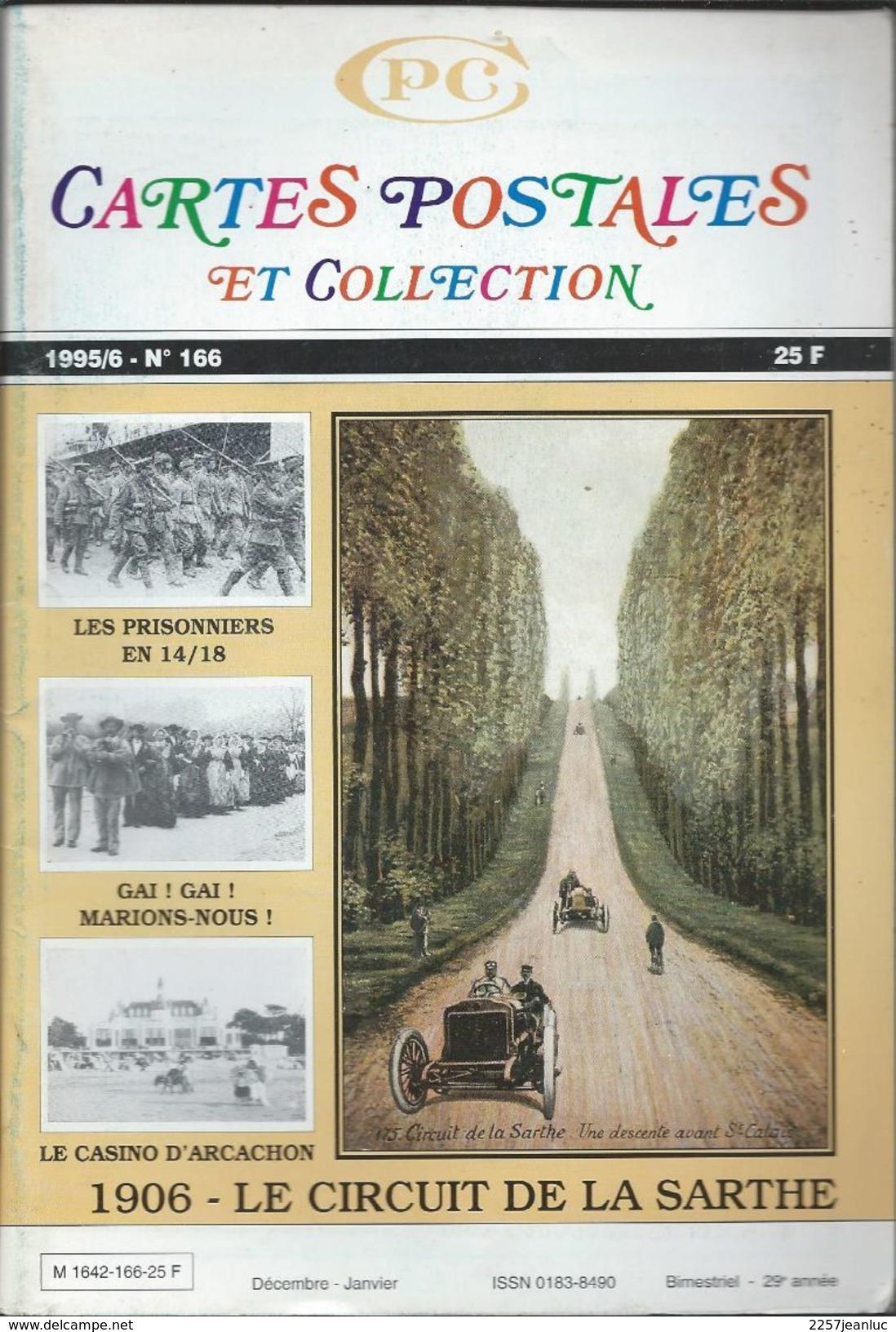 Cartes Postales Et Collections Janvier 1995  Magazines N: 166  Llustration &  Thèmes Divers 98 Pages - Français