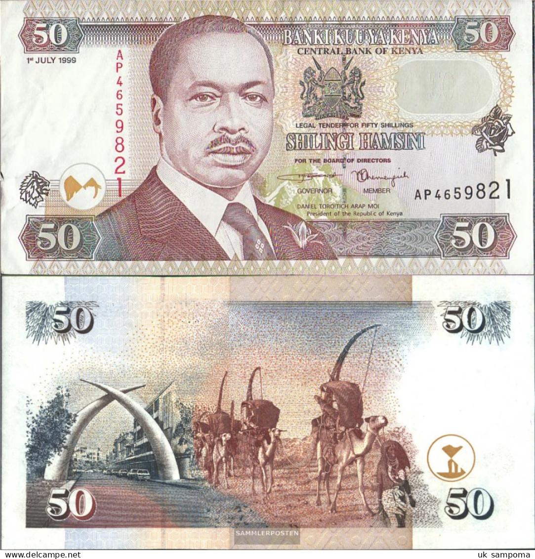 Kenya Pick-number: 36a1 Uncirculated 1996 50 Shillings - Kenya
