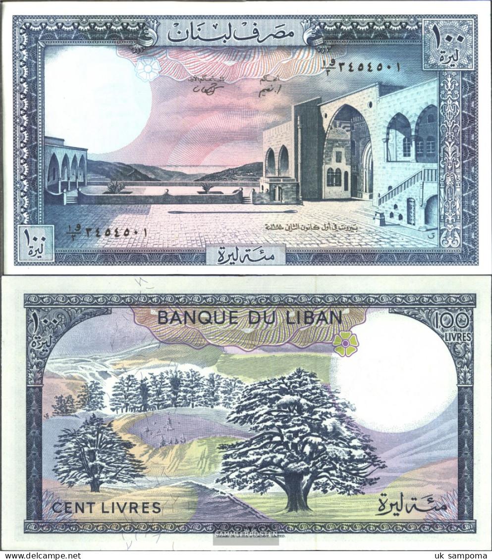 Lebanon Pick-number: 66d Uncirculated 1988 100 Livres - Lebanon