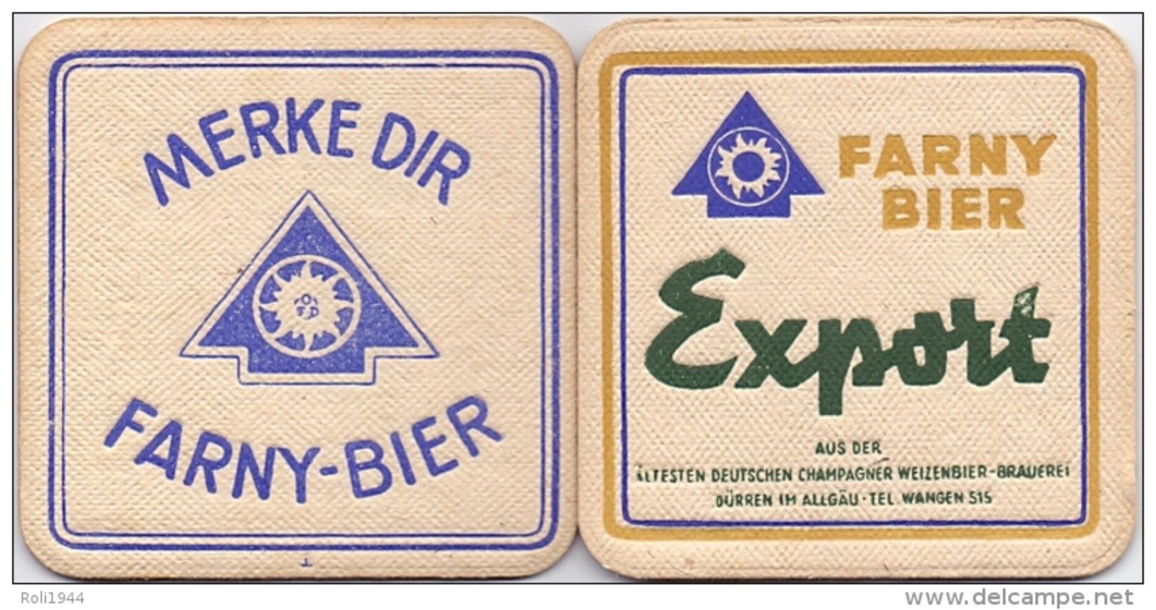 #D153-036 Viltje Brauerei Farny - Sous-bocks