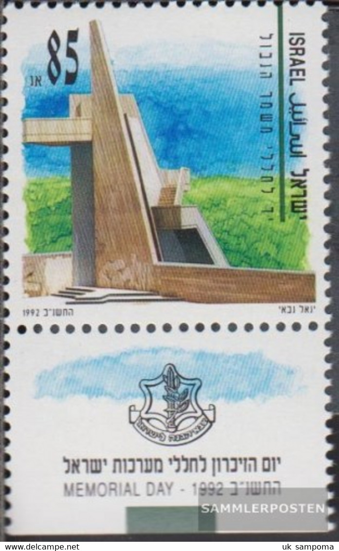 Israel 1219 With Tab (complete Issue) Unmounted Mint / Never Hinged 1992 Fallen Commemoration - Unused Stamps (with Tabs)