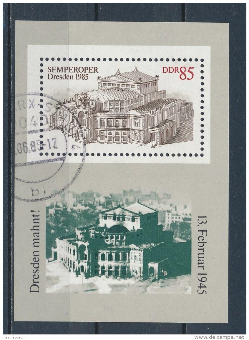 DDR/East Germany/Allemagne Orientale 1984 Mi: Block 80 Yt:  (Gebr/used/obl/o)(2845) - [6] Oost-Duitsland