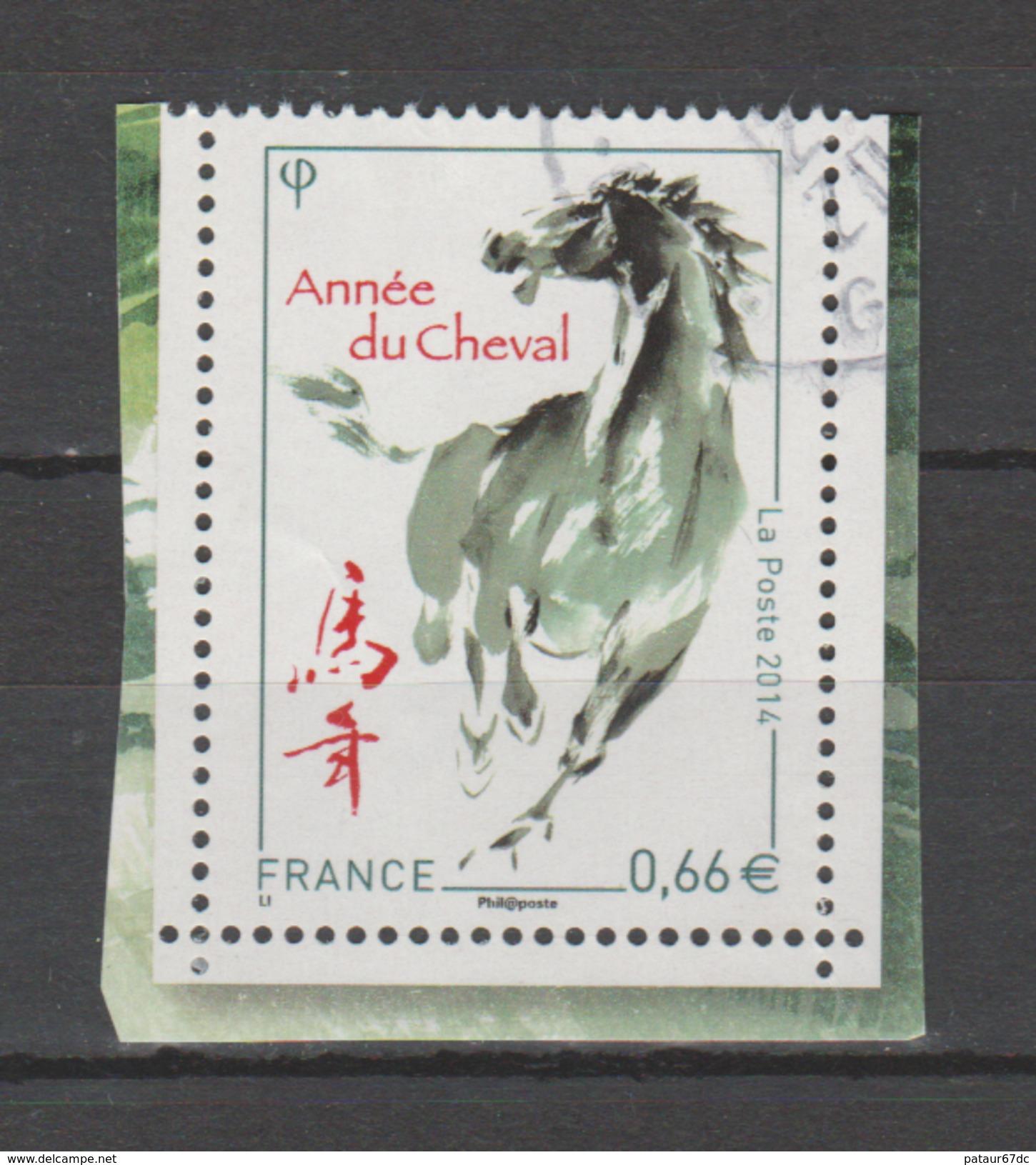 FRANCE / 2014 / Y&T N° 4835 : Année Du Cheval - Choisi - Cachet Rond - France