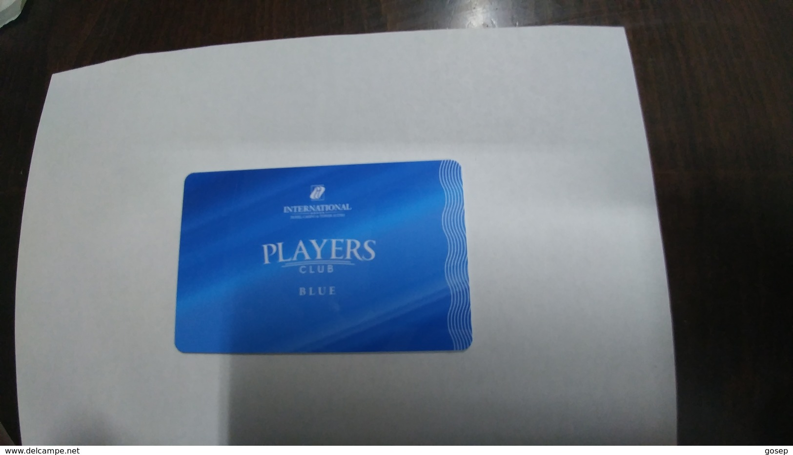 Russia-hotey Key-(340)-international Hotal Casino & Tower Suttes-hotal-(looking Out Side)-used+1card Prepiad Free - Cartes D'hotel