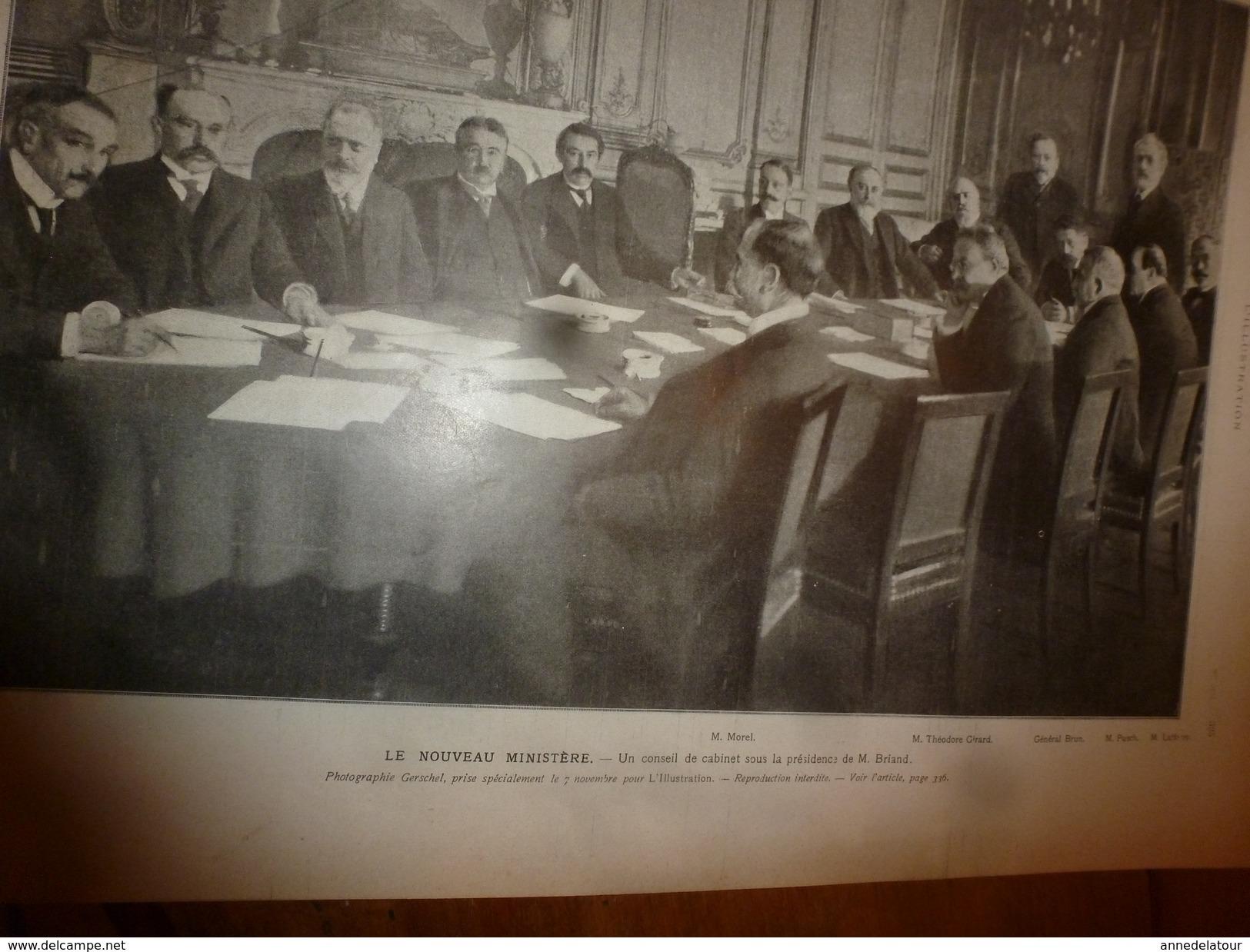 1910 L'ILLUSTRATION:Belgique;Nos Noirs;Expo Chrysanthème;Collision Navire Brighton;Sculpture Photographique;Reliques;etc - Journaux - Quotidiens