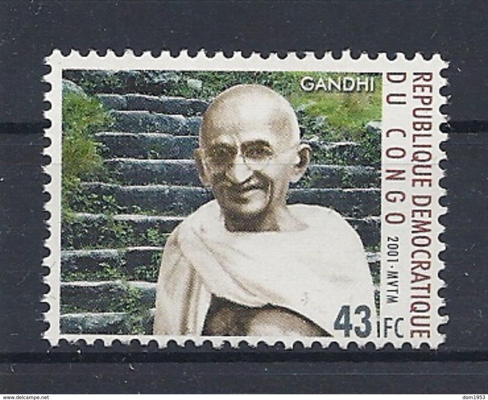 CONGO DEMOCRATIQUE 1712 - GANDHI - Mahatma Gandhi