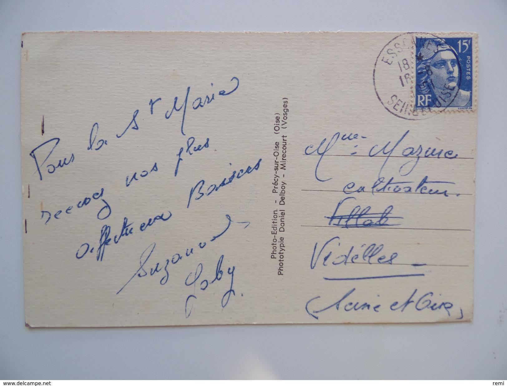 91 VILLABE L'Eglise Colorisée N° 9635 - France