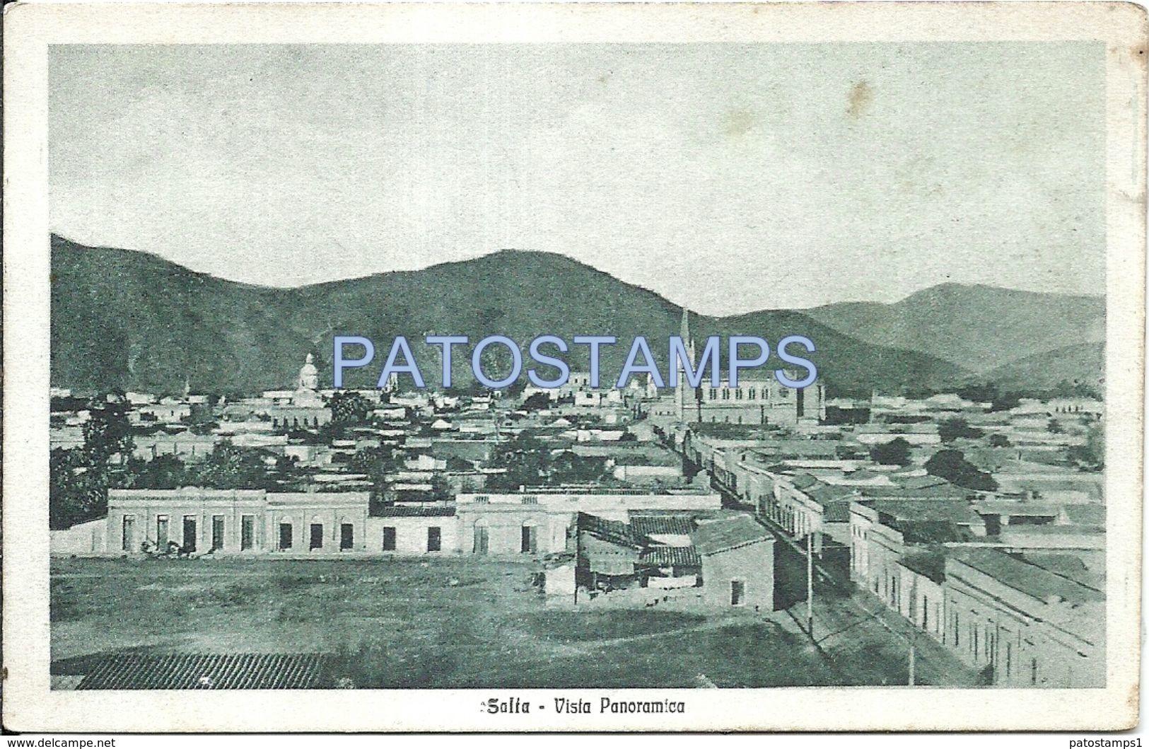 82683 ARGENTINA SALTA VISTA PANORAMICA POSTAL POSTCARD - Argentina