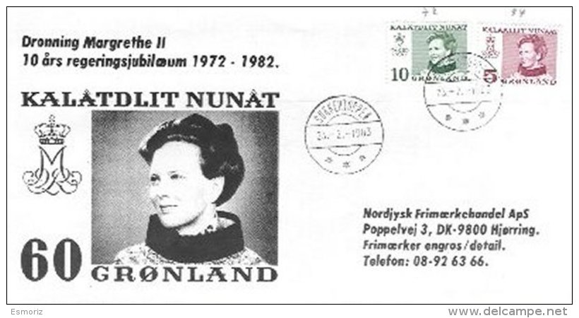 GREENLAND, 1983, Cover - Groenland