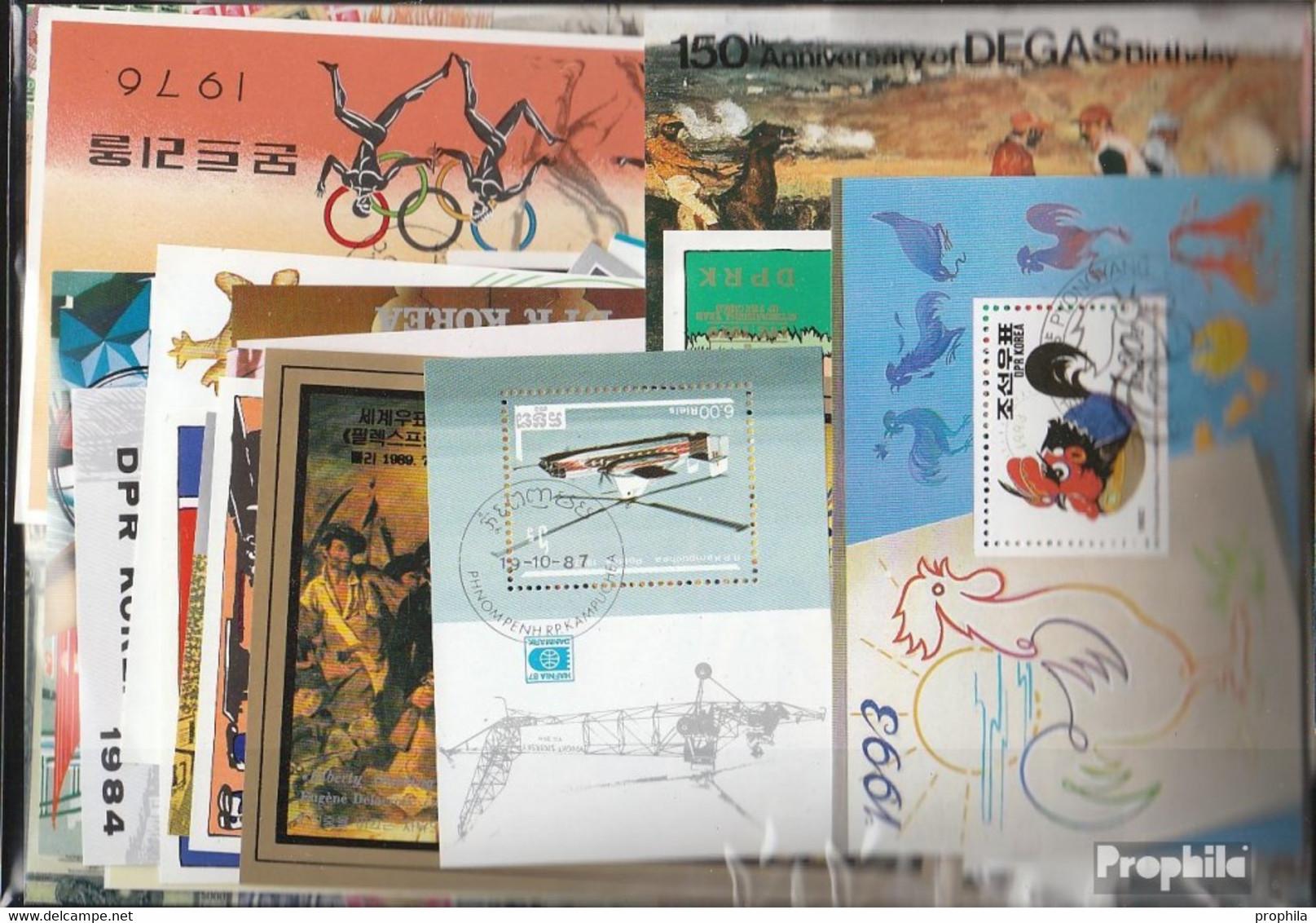 Alle Welt 1.000 Verschiedene Blöcke Und Kleinbögen - Stamps