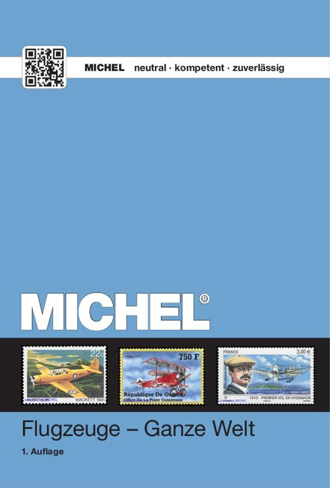 Michel Motivkatalog Flugzeuge - Ganze Welt 2016 - Temáticas