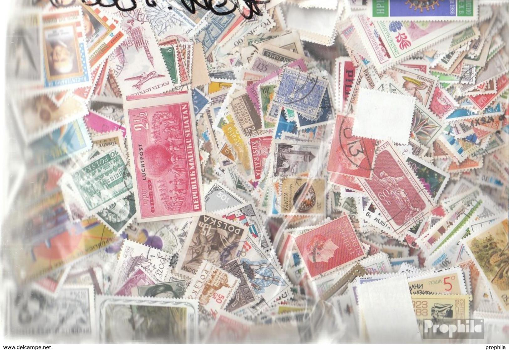 Alle Welt Briefmarken-60.000 Verschiedene Marken - Sammlungen (ohne Album)