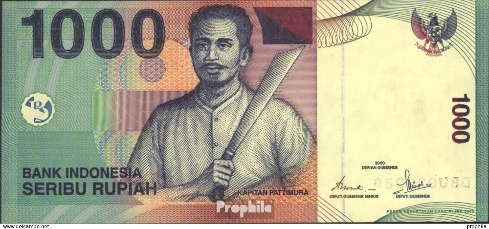 Indonesien Pick-Nr: 141a Bankfrisch 2000 1.000 Rupiah - Indonesien
