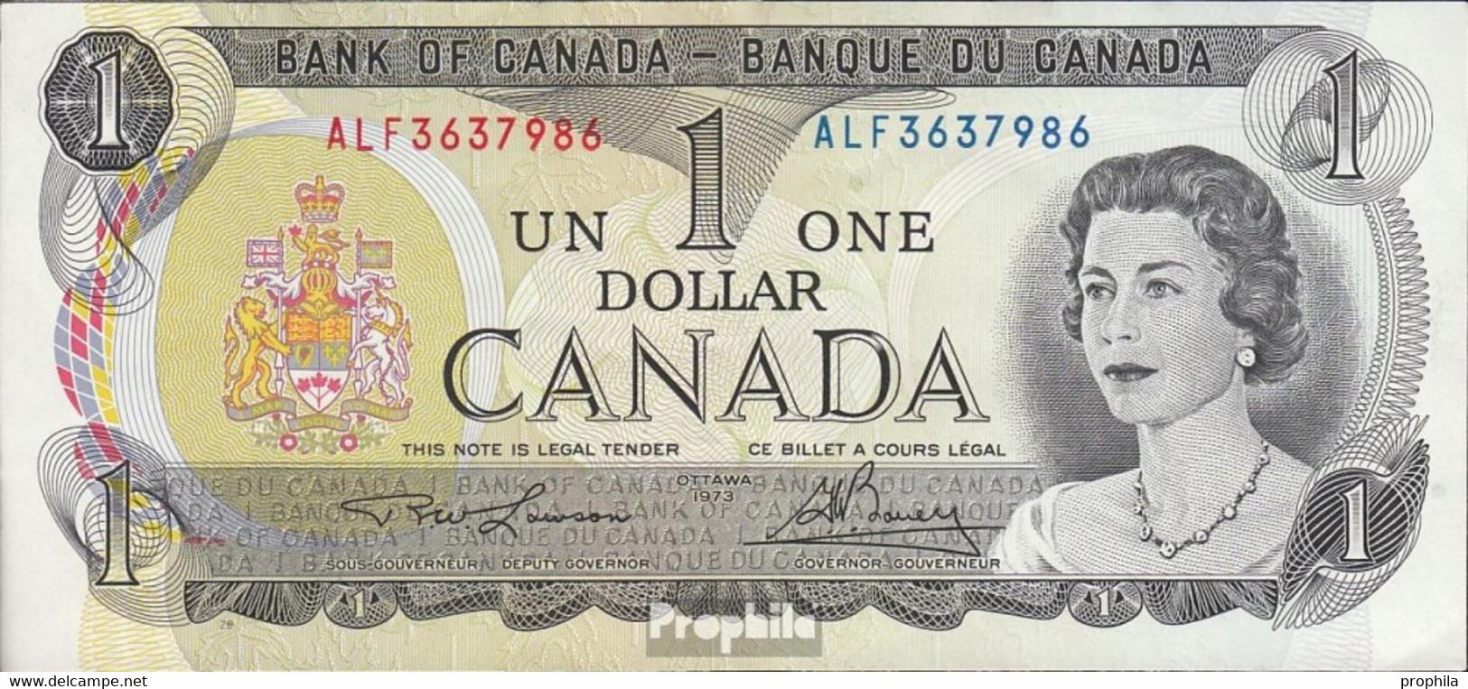 Kanada Pick-Nr: 85b Bankfrisch 1973 1 Dollar - Kanada