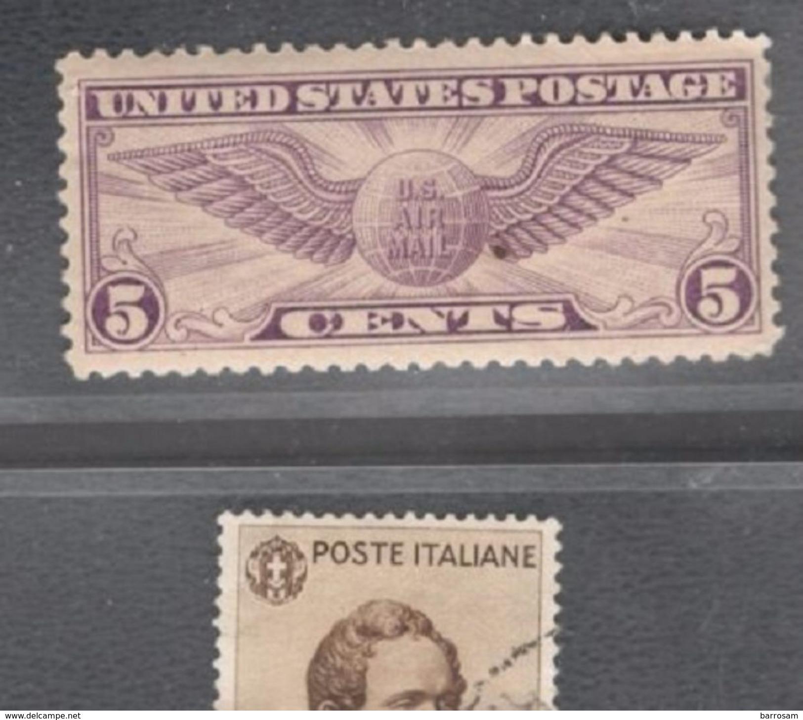 UnitedStates1930:Scott C12  Mh* (Michel321c)Cat.Value $9.00 - Air Mail
