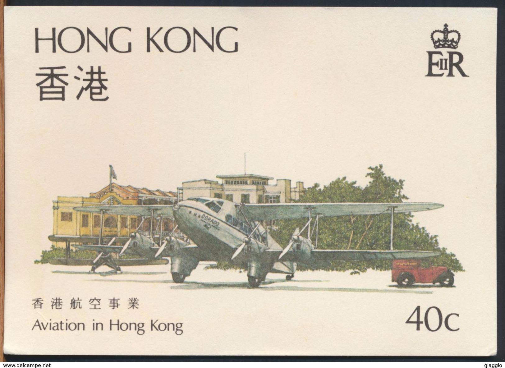 °°° 9622 - AVIATION IN HONG KONG °°° - Cina (Hong Kong)