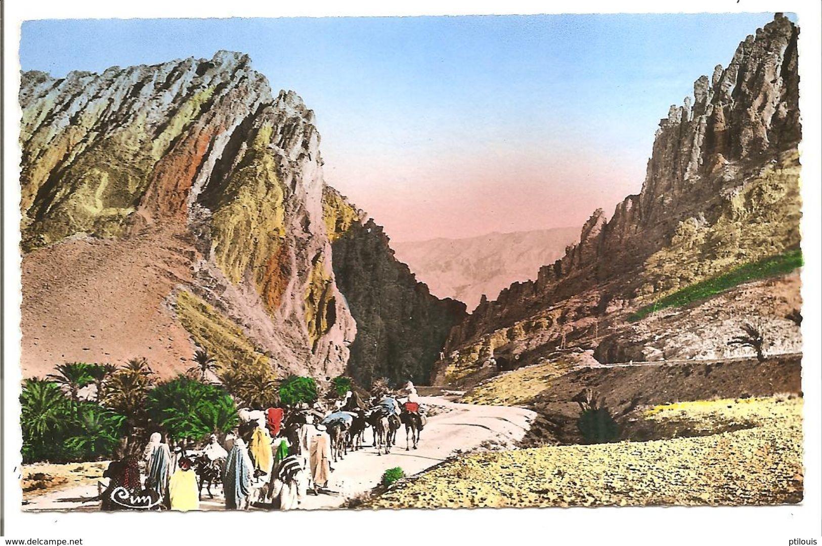 """Collect. Artist. """"L'Afrique"""" - 471 - La Porte Du Désert Ou Porte D'Or - (Cliché R. Prouho - Combier Imp. Macon - CIM) - Algérie"""