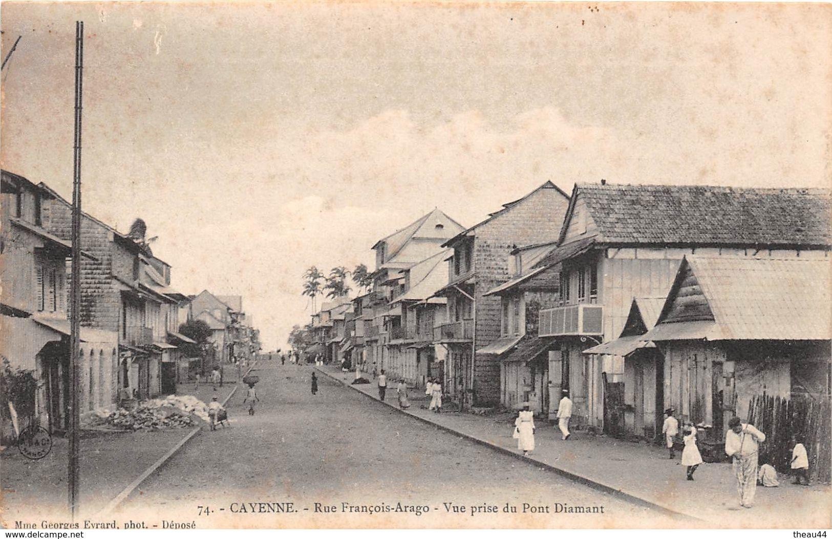 ¤¤  -    GUYANNE  -  CAYENNE   -  Rue François-Arago  -  Vue Prise Du Pont Diamant   -  ¤¤ - Autres