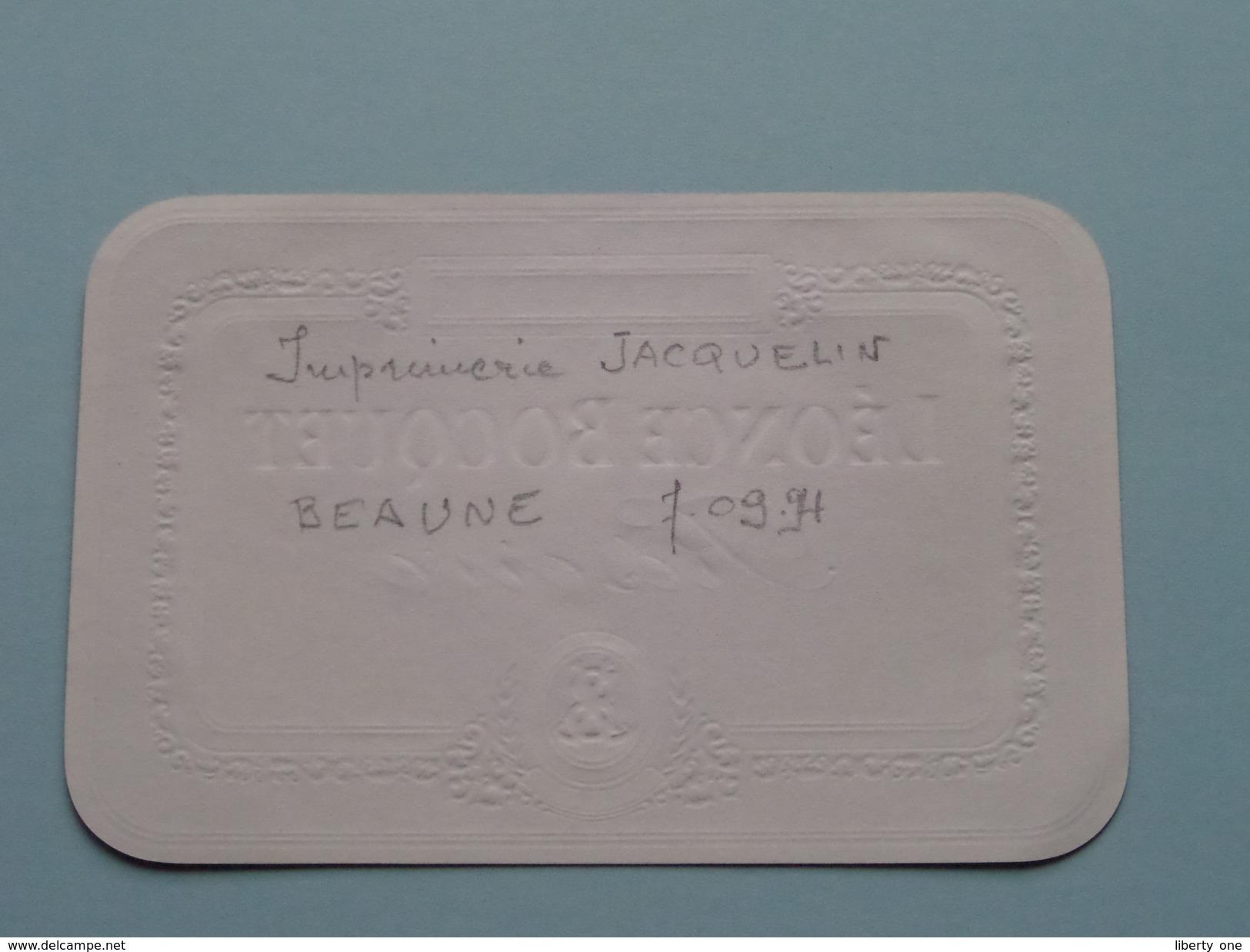 Brandy Léonce Bocquet Réserve ( 21200 Côte D'Or ) 700 Ml. ( Zie/voir Foto's Voor Detail ) ! - Labels