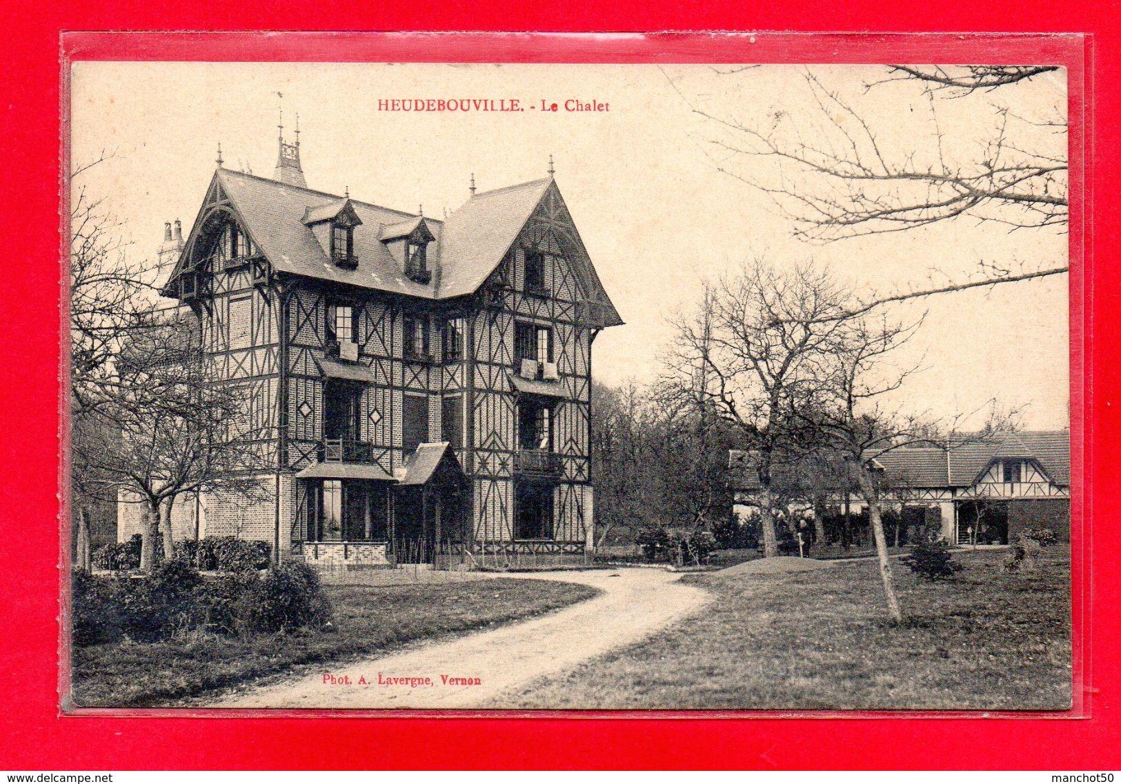 27-CPA HEUDEBOUVILLE - LE CHALET - (N°2290) - Autres Communes