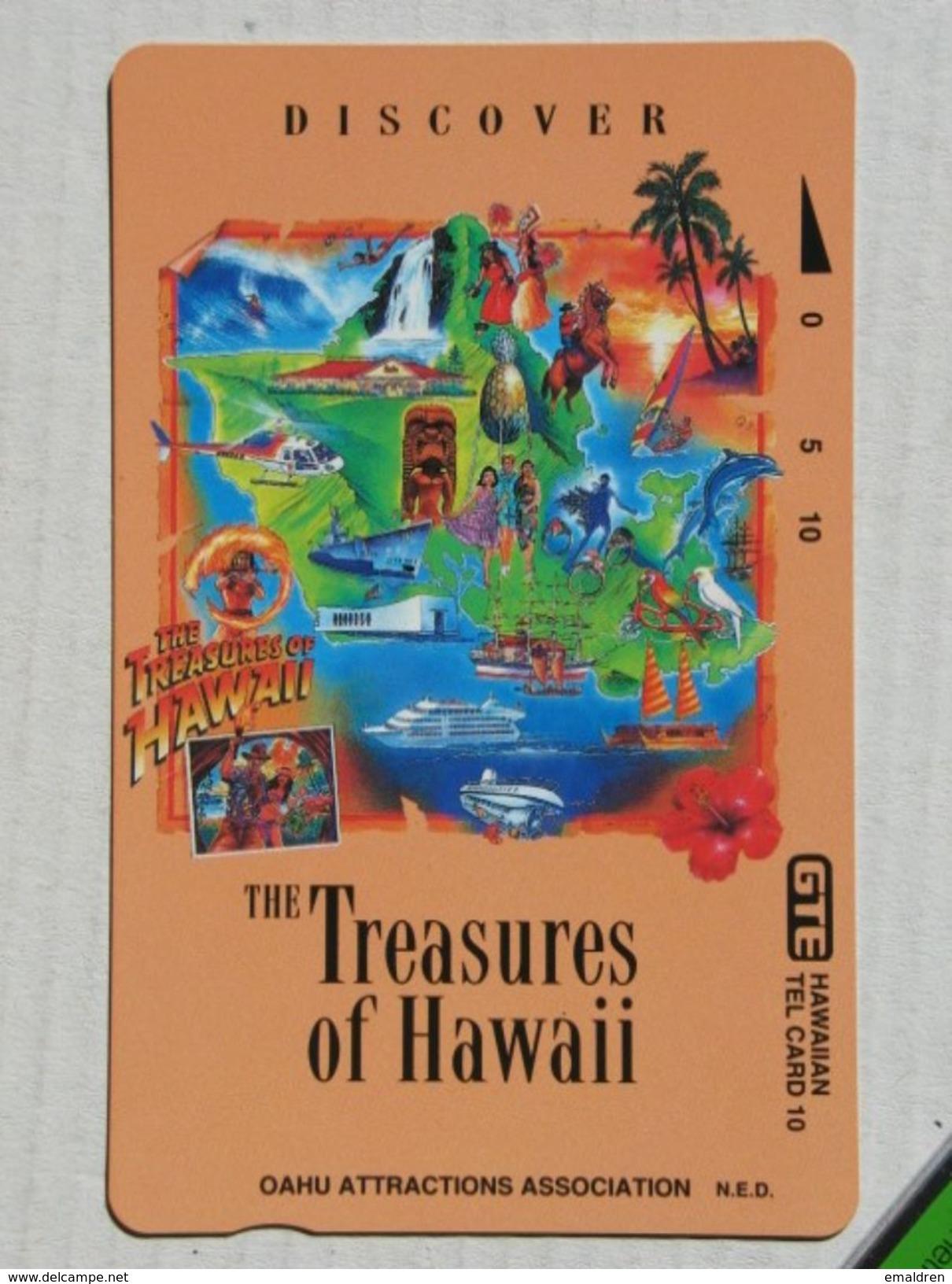 The Treasures Of Hawaii. MINT. - Hawaï