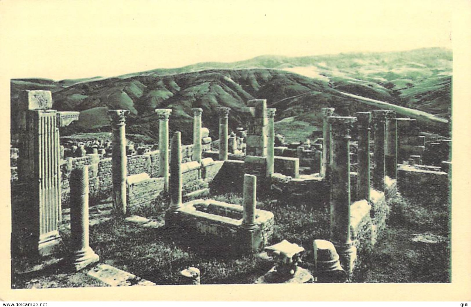 Afrique ALGERIE Wilaya De Sétif)  DJEMILA Atrium D'une Maison( Cité Antique) Cpa  SPTGA 47/ 49 - Sétif