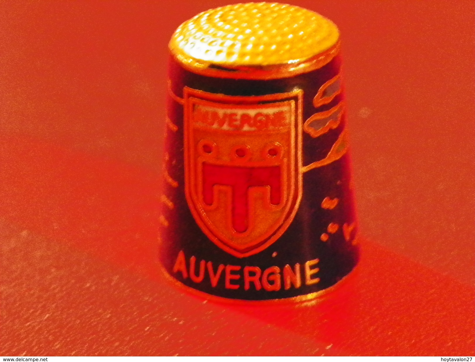 "Dé Cloisoné""Auvergne"" - Ditali Da Cucito"