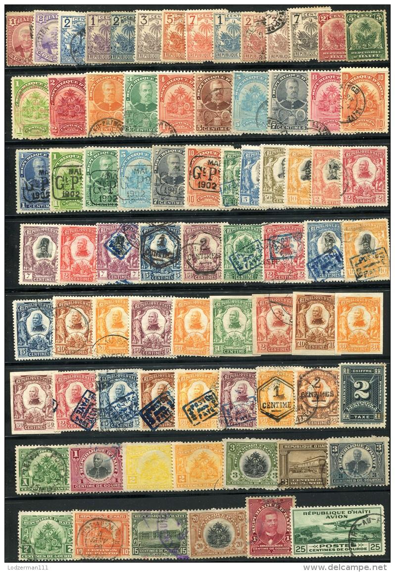 HAITI - Large Lot Of Classic Stamps (mix) - Haiti