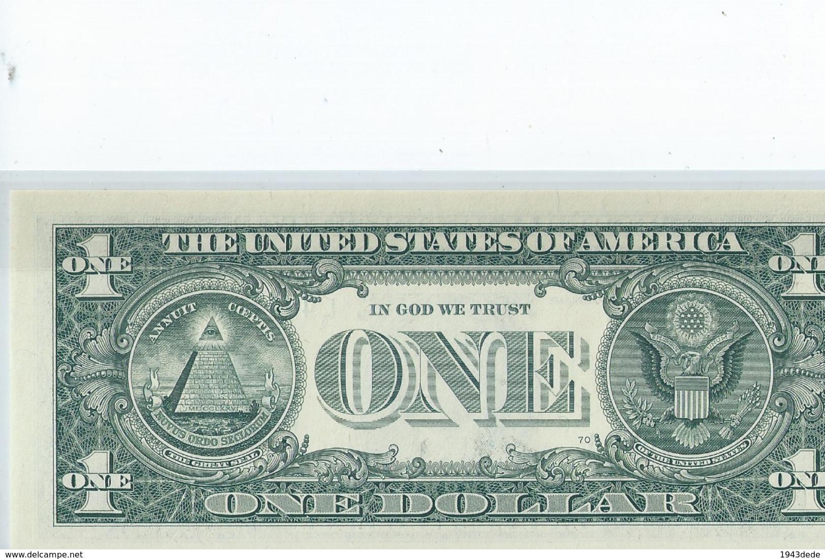 BILLET 1 Dollar Americain Vrais Billet Johnny Halliday - EURO