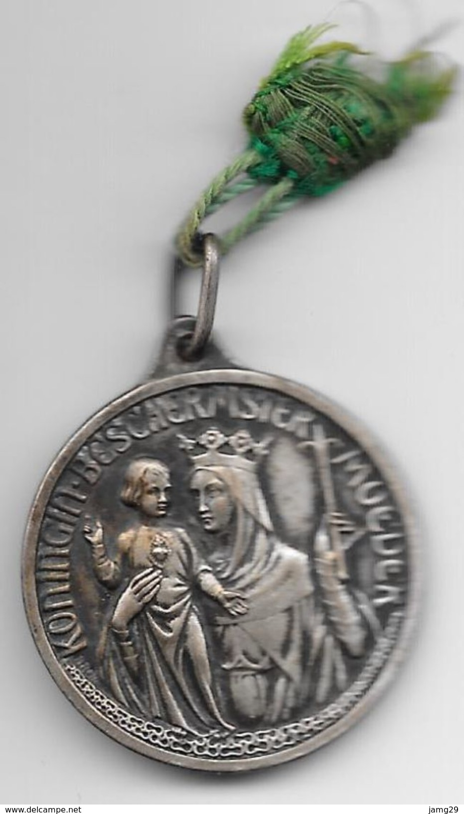 Nederland/Holland, Penning/Medaille Mariacongregatie, Doorsnee 32 Mm., Ca. 1950 - Godsdienst & Esoterisme