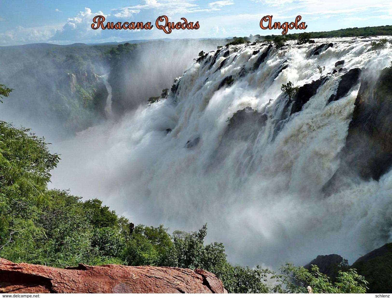 Ruacana Falls Angola - Angola