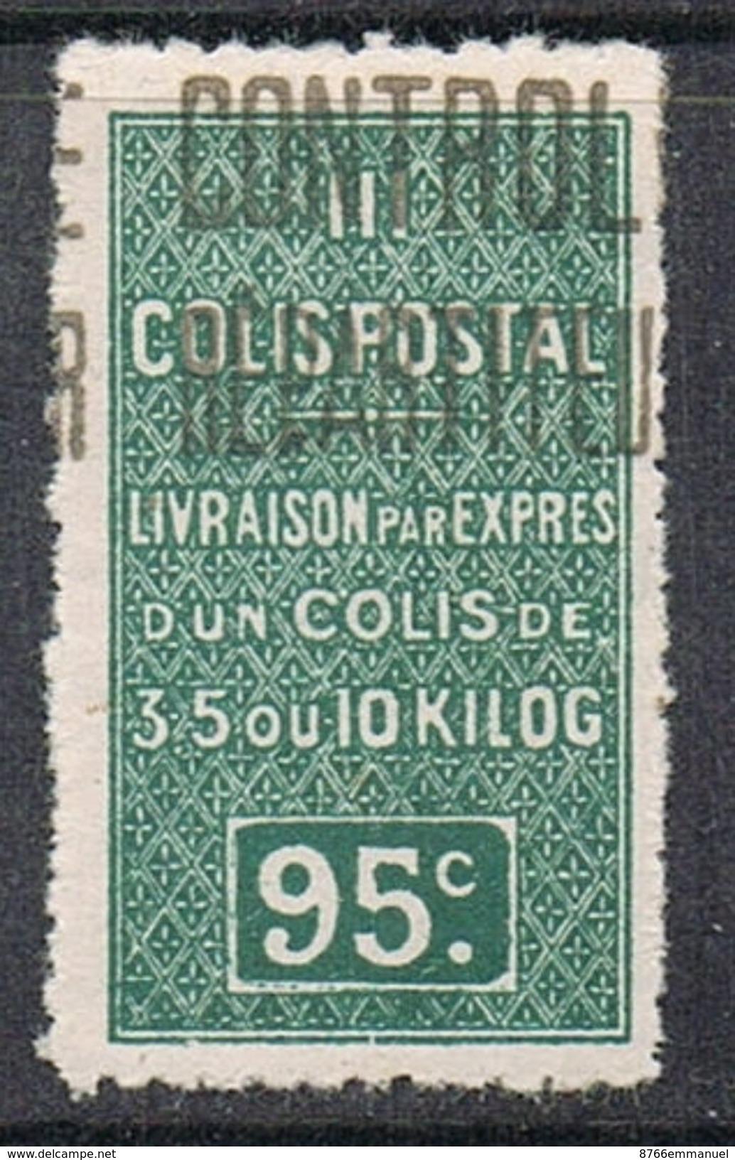 ALGERIE COLIS POSTAL N°20 N* - Algérie (1924-1962)