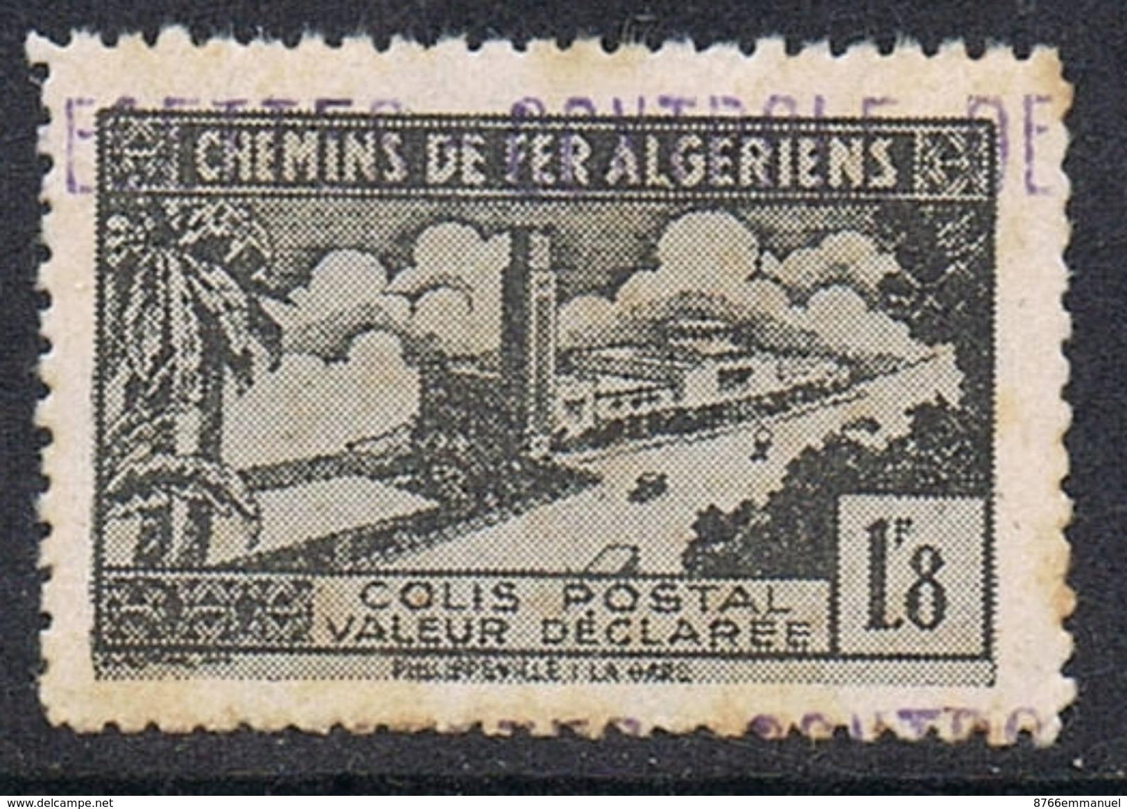 ALGERIE COLIS POSTAL N°84 N** - Algérie (1924-1962)
