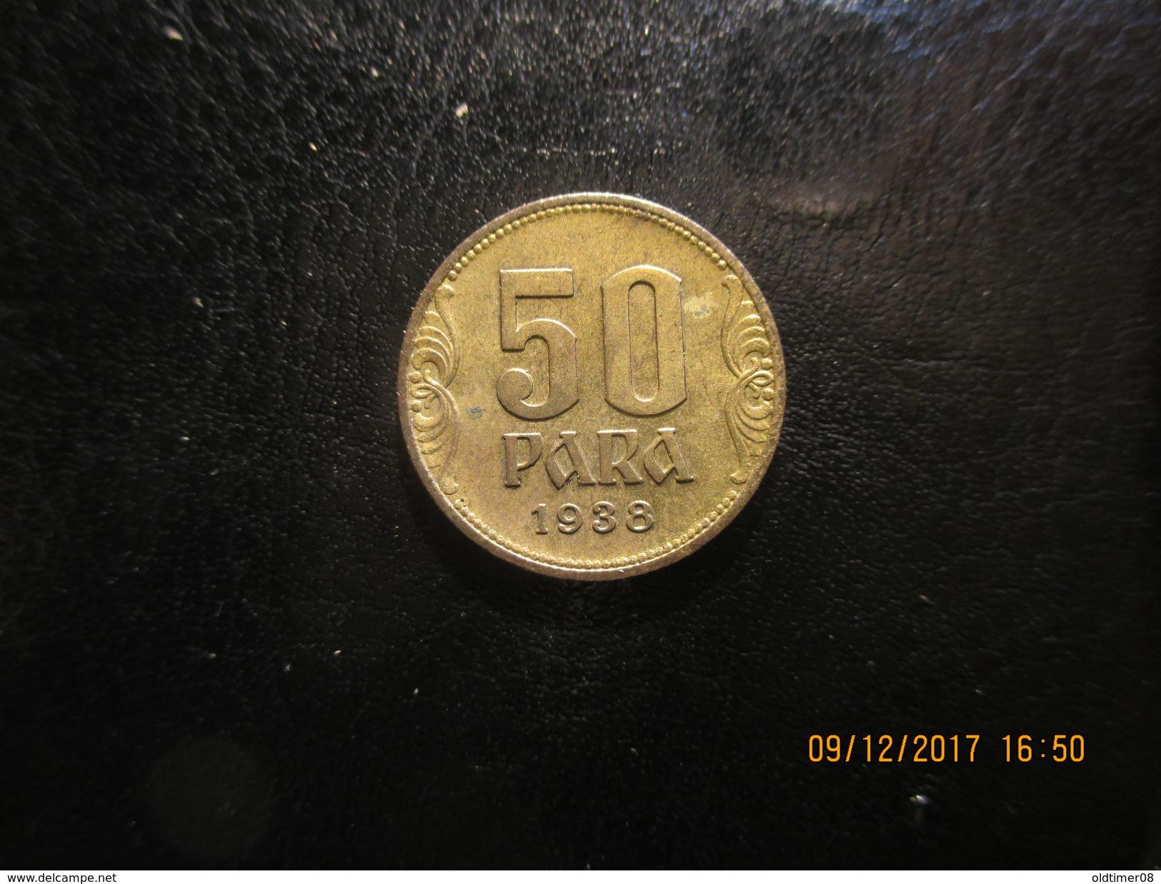 Yougoslavie, 50 PARA 1938, SUP - Joegoslavië