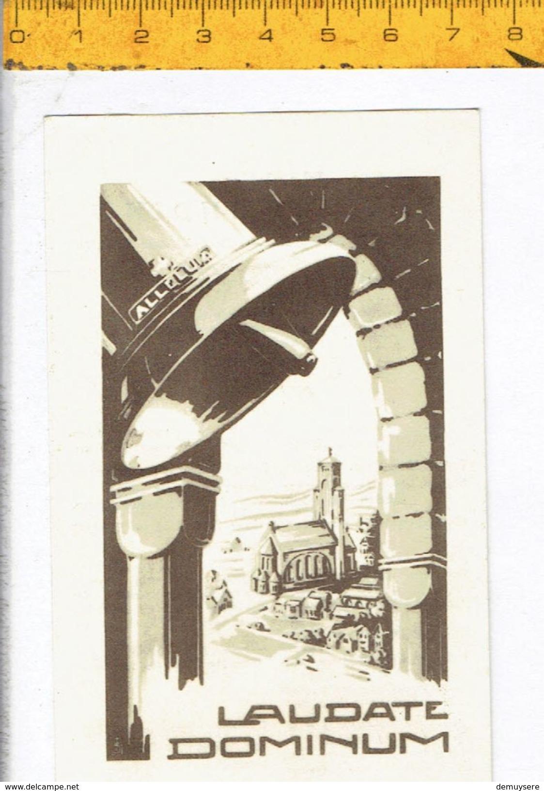 Kl 044 - Klokkenwijding 1952 Sint Gillis Waas - Maria Toon Re 1760 Kgr; - Egidius Toon Fa Dieze 1000 Kgr - Religion & Esotérisme