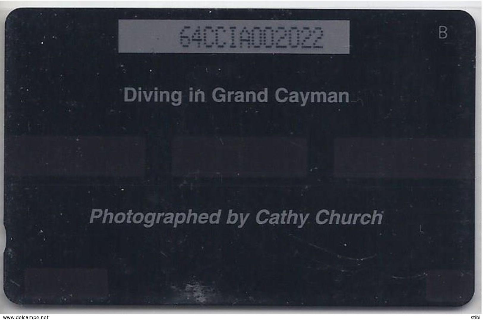 CAYMAN ISLANDS - DIVING IN GRAND CAYMAN - 64CCIA - Cayman Islands