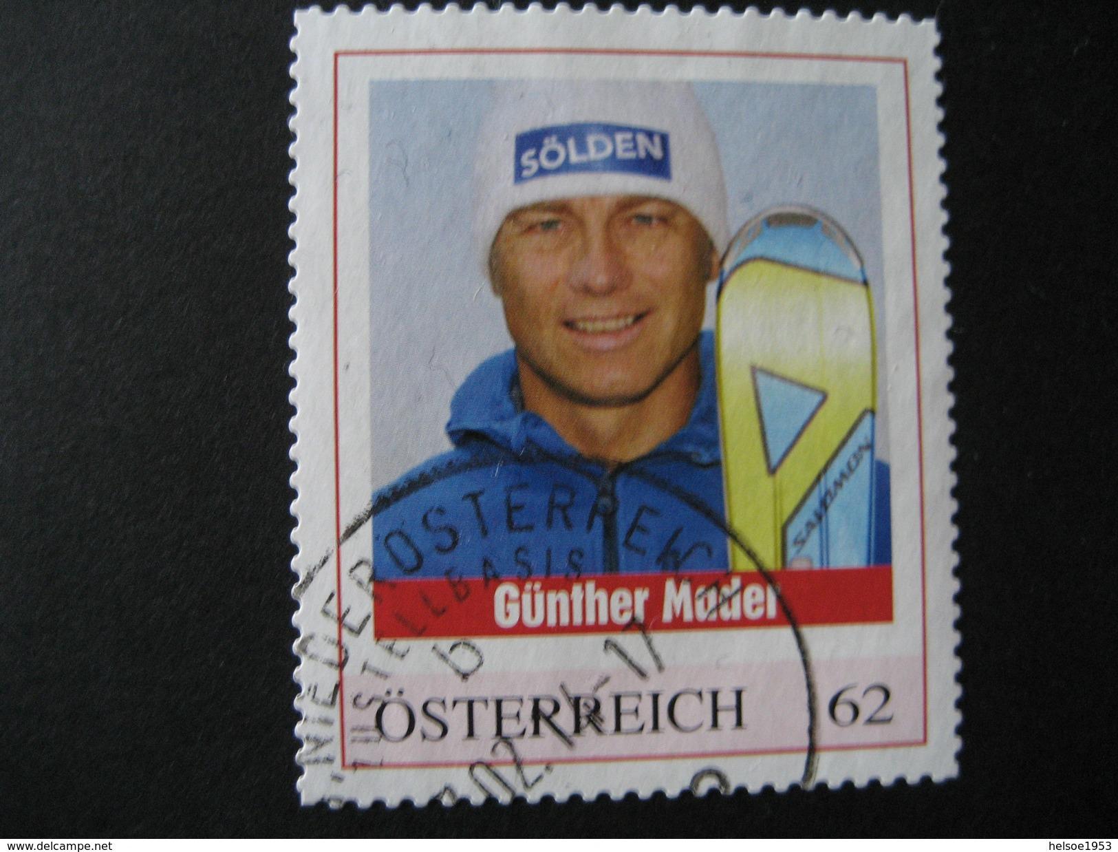 PM Gestempelt Günther Mader, - Personalisierte Briefmarken
