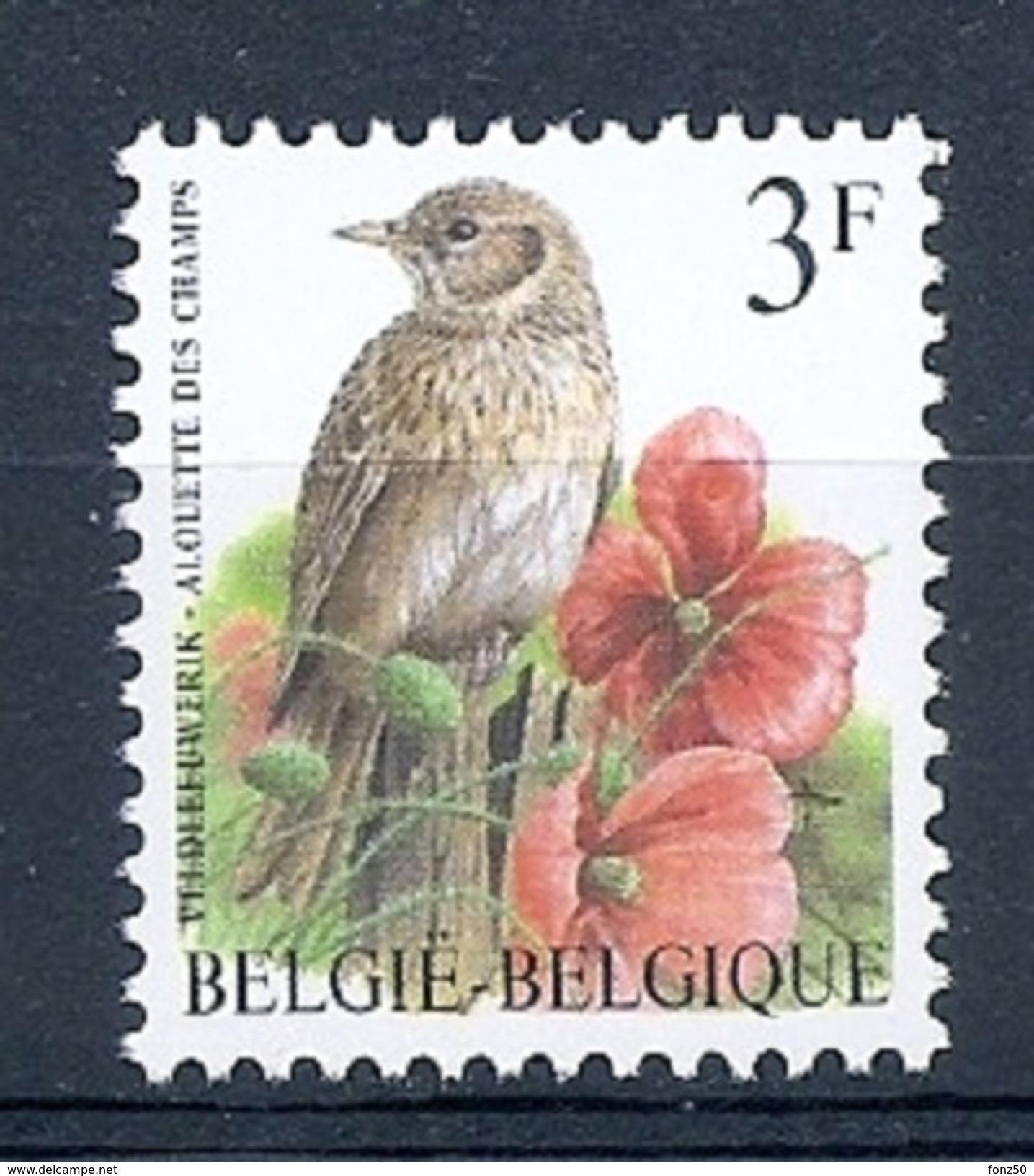 BELGIE * Buzin * Nr 2705 * Postfris Xx * FLUOR  PAPIER - 1985-.. Oiseaux (Buzin)