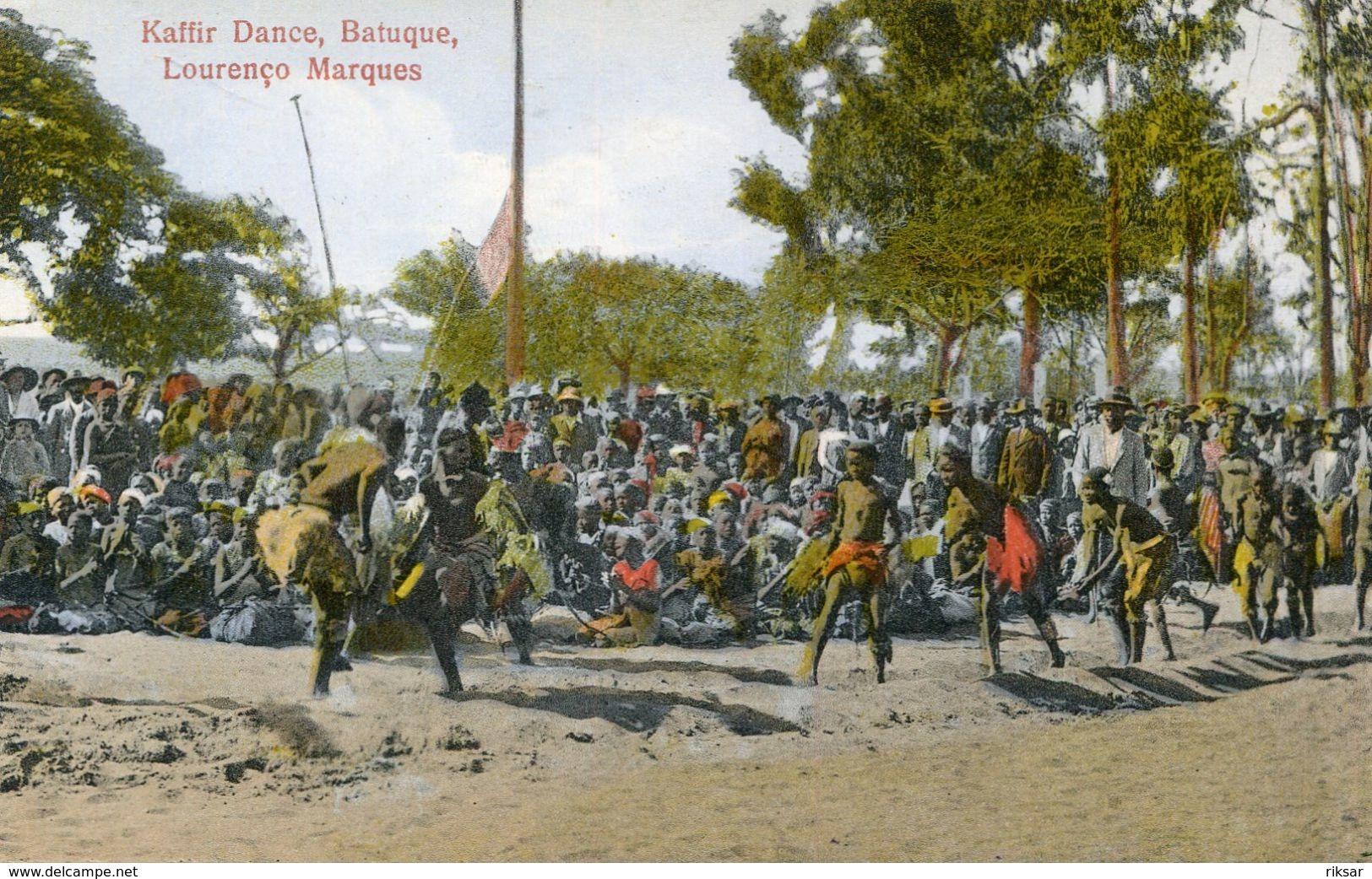 MOZAMBIQUE(TYPE) DANSE - Mozambique