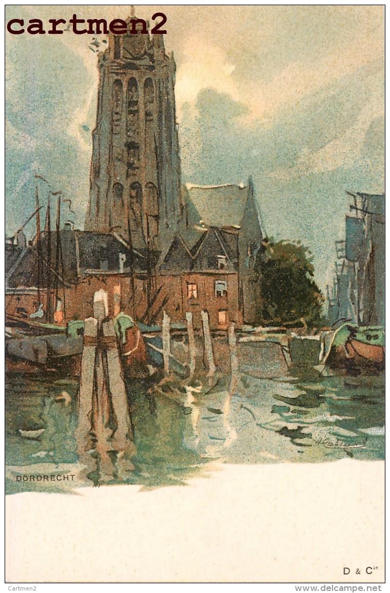 DORDRECHT ILLUSTRATOR NEDERLAND 1900 - Dordrecht