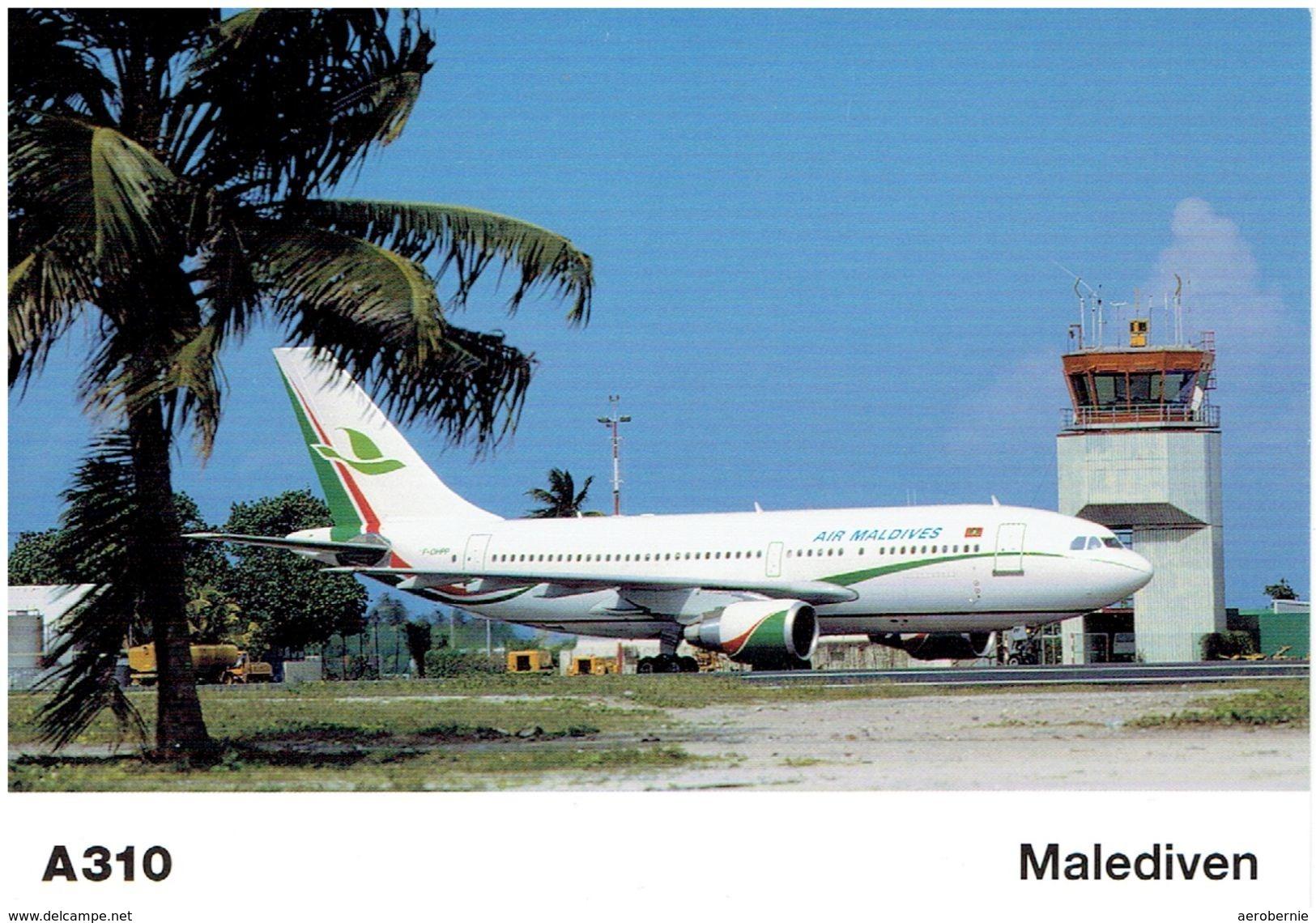 AIR MALDIVES - Airbus A-310 (Airbus Issue) - 1946-....: Moderne
