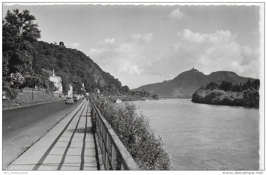AK 0805  Rolandseck Am Rhein Mit Blick A. D. Drachenfels - Verlag Edm. V. König Um 1950-60 - Remagen