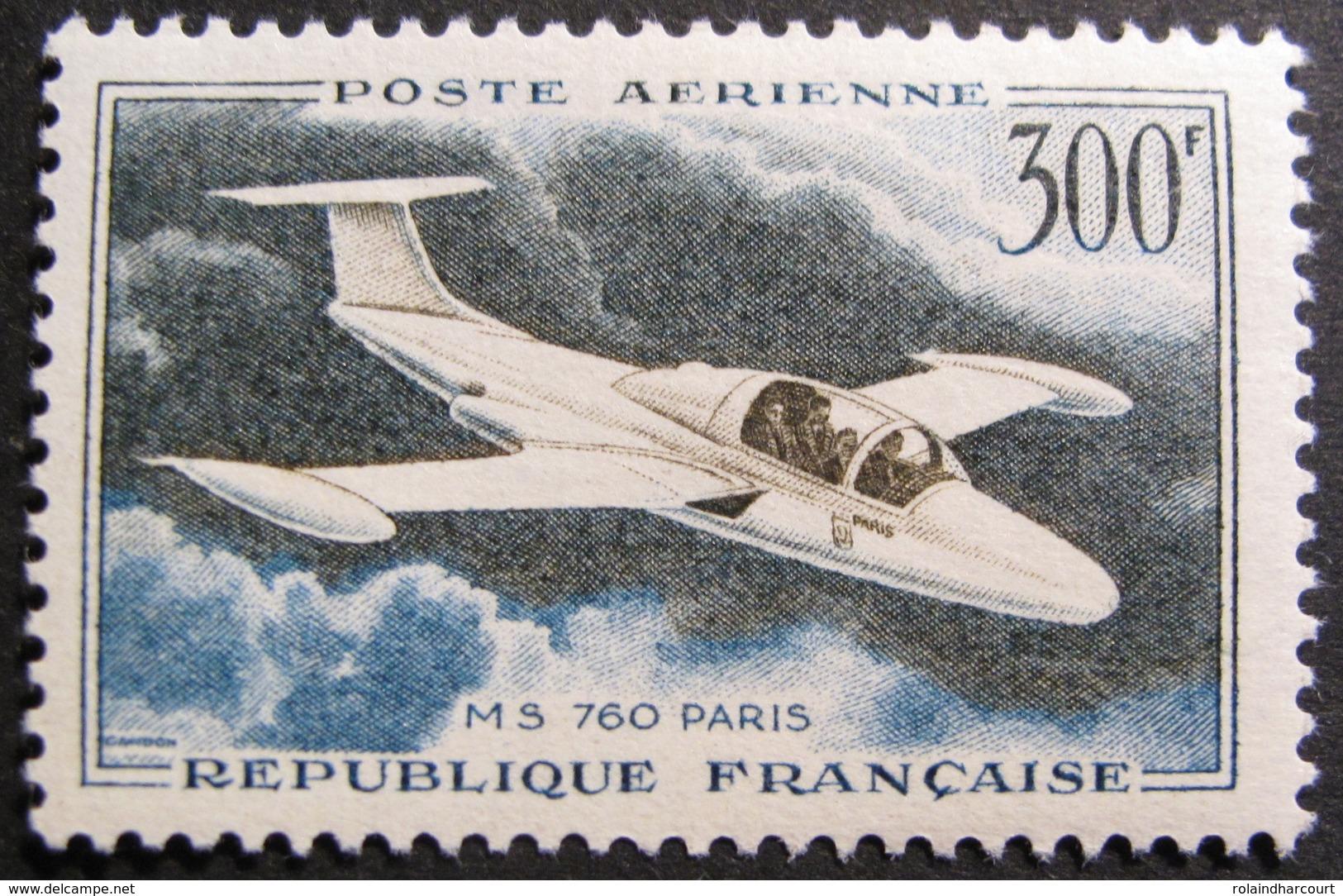 LOT R1624/197 - 1957 - POSTE AERIENNE - N°35 NEUF** - Airmail