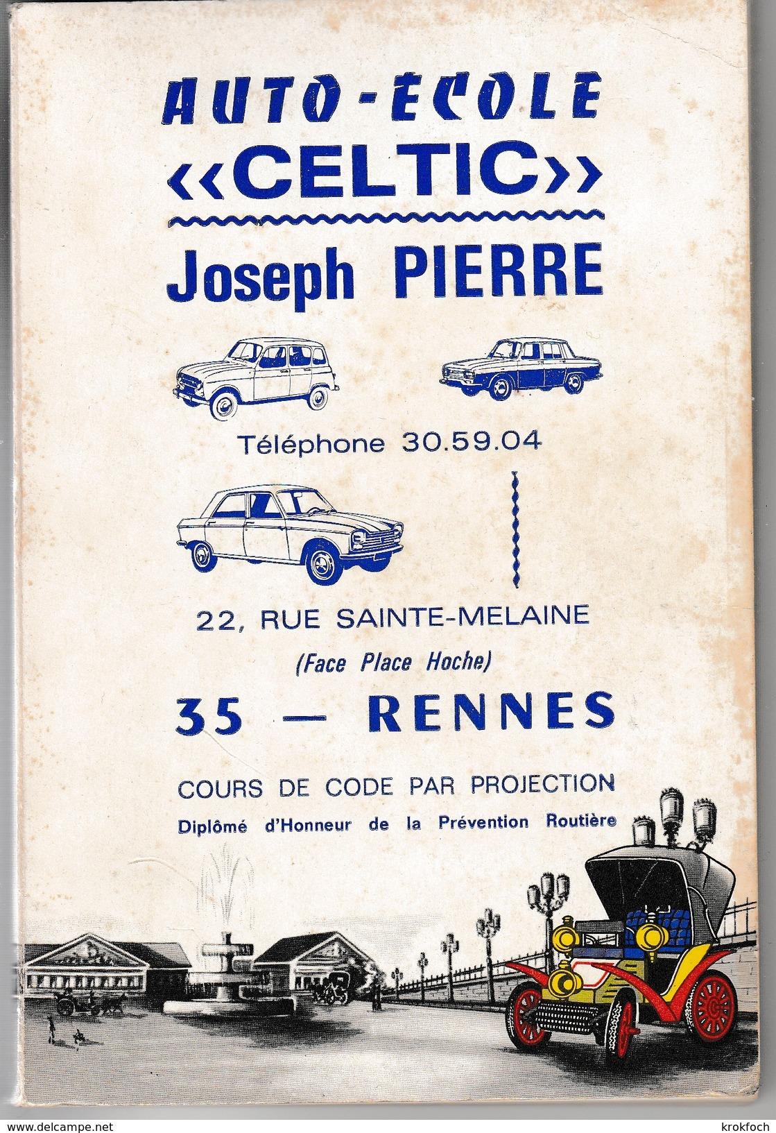 Code Rousseau Auto-école 1978 - Code De La Route Illustré - 130 Pages - Autres