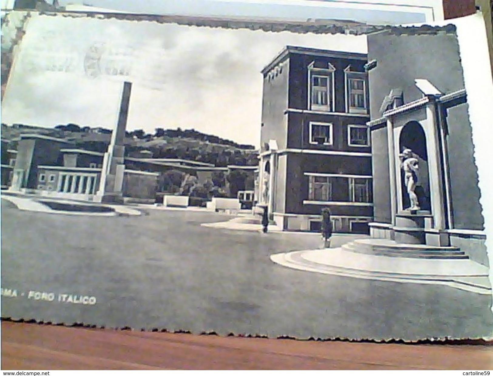 ROMA - FORO ITALICO VB1952  GM19911 - Places & Squares