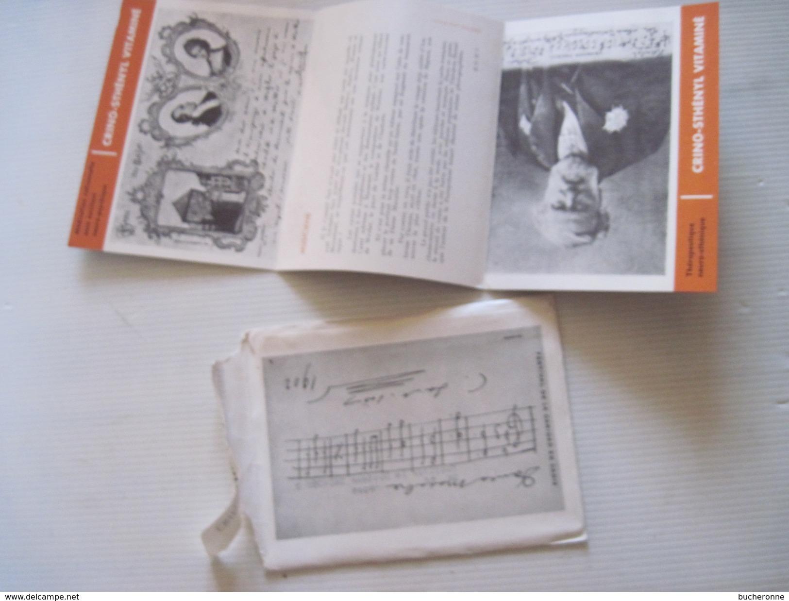 """CPA  Lettre Et Dépliant PUB. - Série N° 18 """"petite Histoire De La Carte Postale Illustrée""""  T.B.E. - Publicité"""