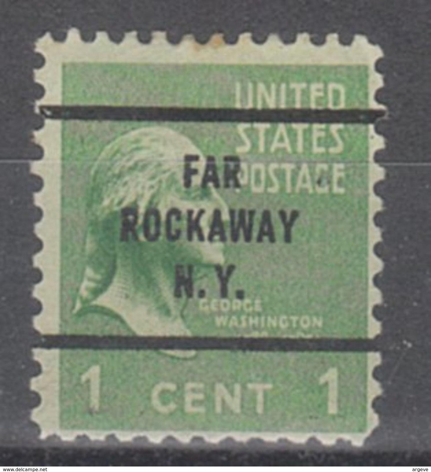 USA Precancel Vorausentwertungen Preo, Bureau New York, Far Rockaway 804-63 - Vereinigte Staaten