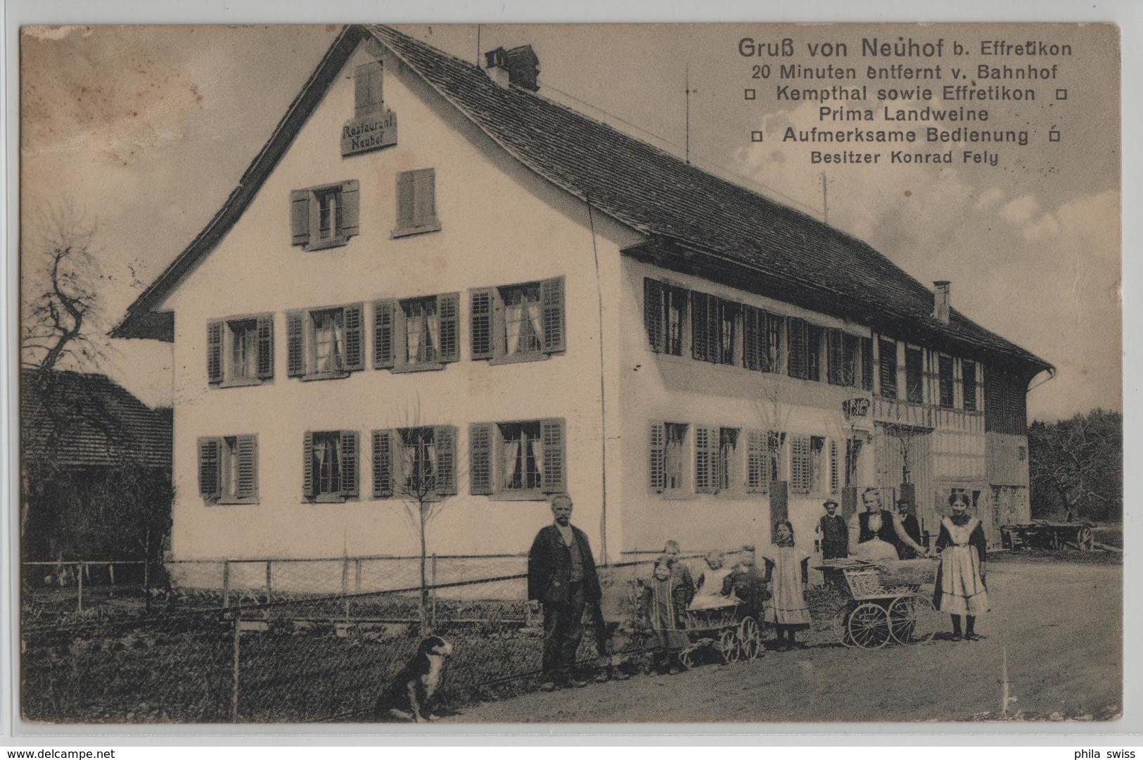 Gruss Von Neuhof Bei Effretikon - Animee - ZH Zurich